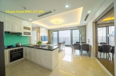 Ban quản lý Cho thuê căn hộ 2002 Bonanza 23 Duy Tân 105m đồ cao cấp 3ngủ 14triệu 0981337456