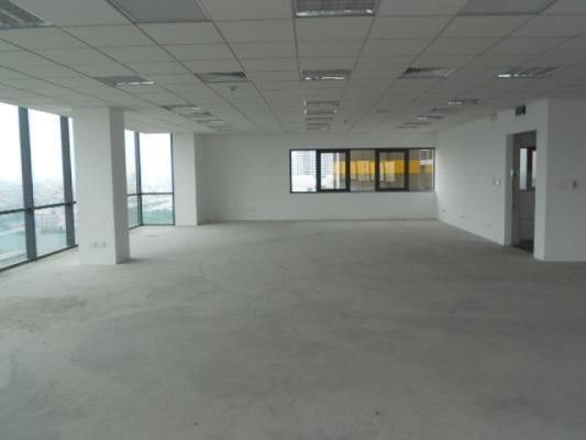Cho thuê văn phòng chung cư 34T Hoàng Đạo Thúy 256m2, nhà nội thất cơ bản giá thuê 30 triệu/tháng