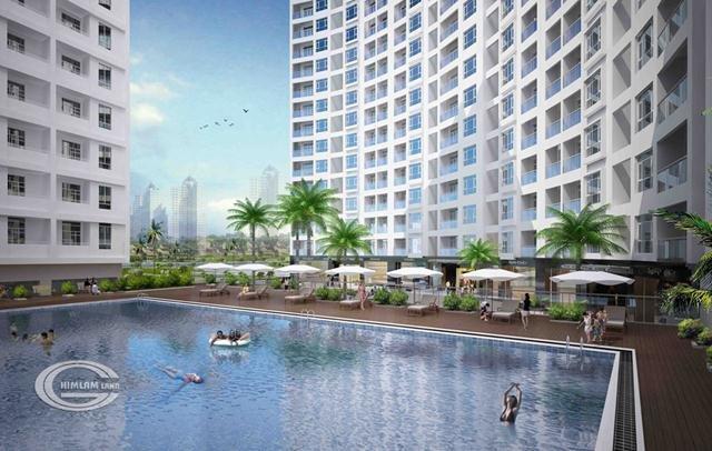 Cho thuê căn hộ 111m2 chung cư Him Lam Riverside, full nội thất cao cấp, giá rẻ nhất thị trường