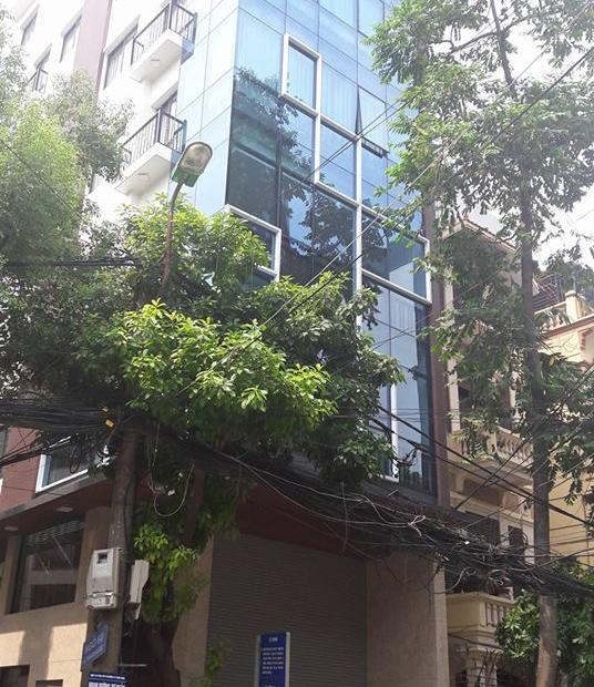 Bán tòa nhà 8 tầng xây mới, kiến trúc hiện đại mặt phố Trần Duy Hưng, Trung Kính, dt 100m2