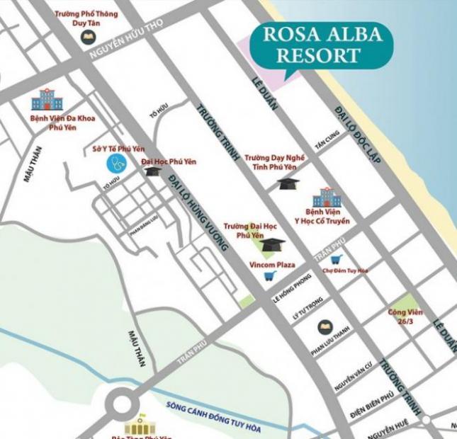Bán Biệt Thự Biển Dự Án Rosa Alba Resort Tuy Hòa, Phú Yên