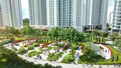 Chỉ 1,4 tỷ sở hữu ngay CH 2PN, DT 74m2 tại KĐT sinh thái Hồng Hà Eco City, LS 0%, CK 4%