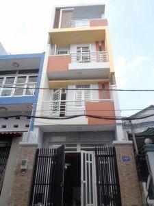 Nhà hẻm thông 8m Gò Dầu, Q. Tân Phú, 5.6x28m, 3 tấm, 9tỷ6 TL
